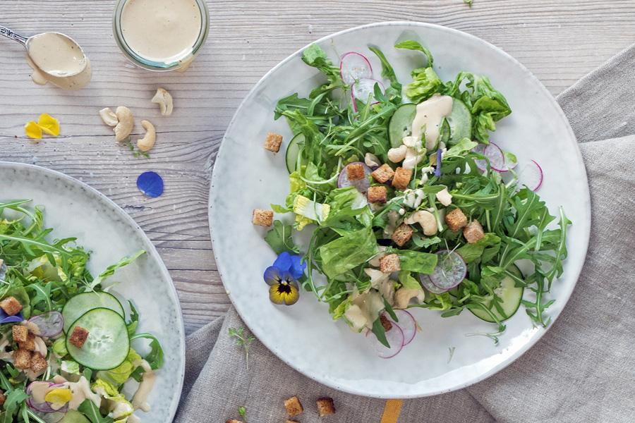 veggie rezept caesar salad jedes essen z hlt. Black Bedroom Furniture Sets. Home Design Ideas