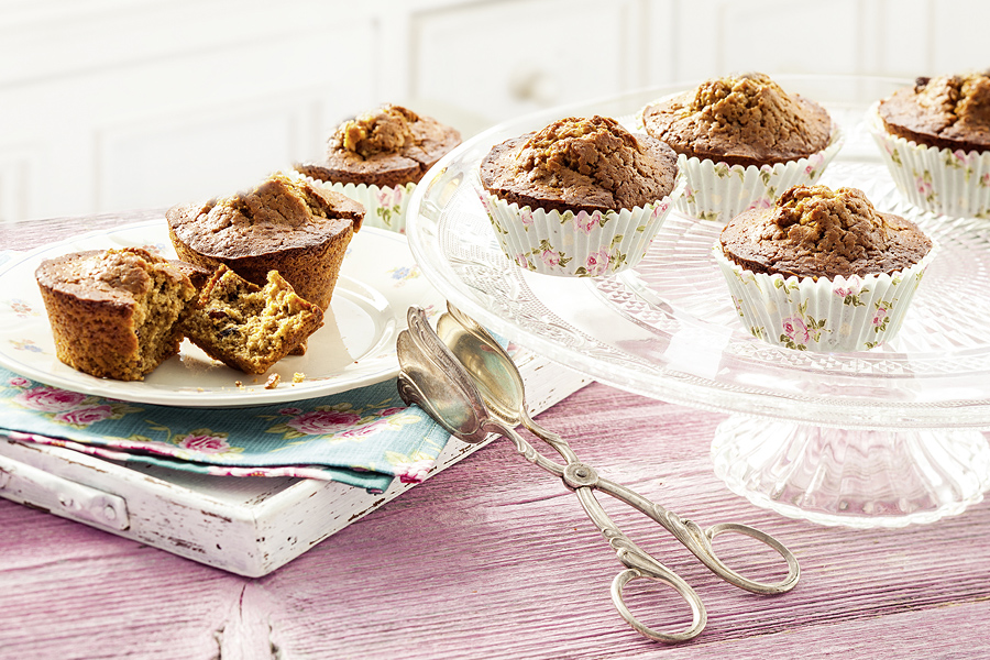 Cranberry-Nuss-Muffins