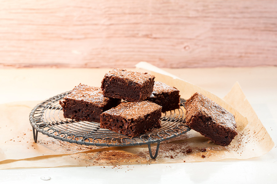 Dattel-Brownies