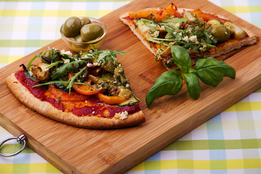 Atillas Veggie Pizza