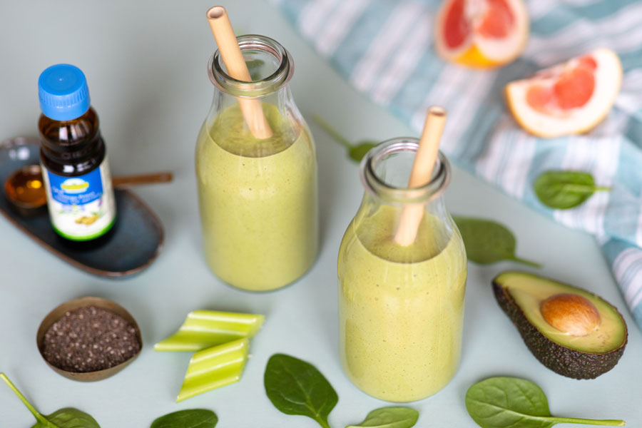 Low Carb OXYGUARD Protein Smoothie, vegan